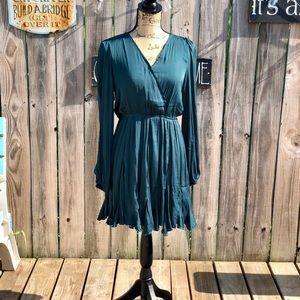 mittoshop Emerald green dress size small